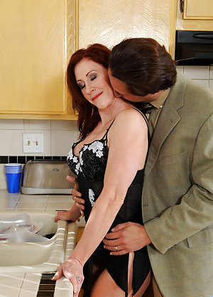 Busty Milf Kissing Porn